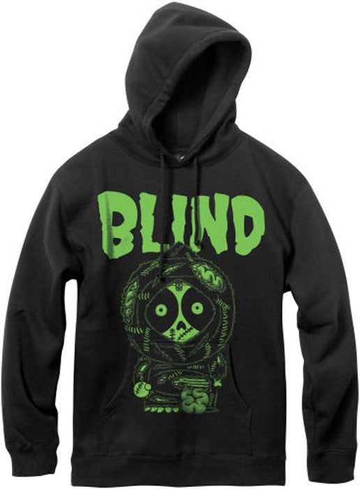 Blind Zombie P/O Youth Sweatshirt - Black