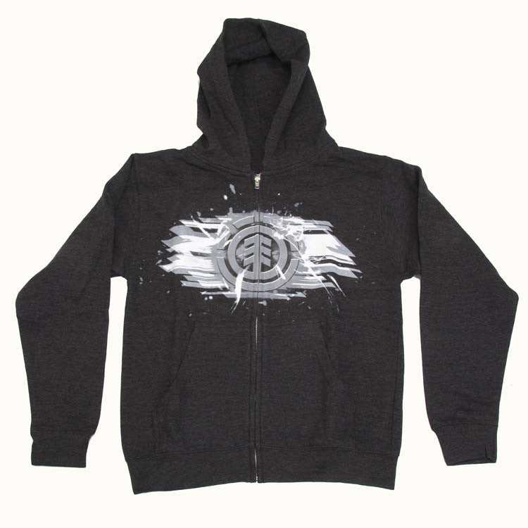 Element Shred Youth Sweatshirt - Charcoal