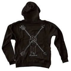 Toy Machine Arrows Zip - Men's Sweatshirt - Black