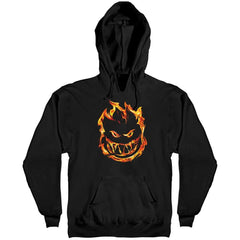 Spitfire 451 Hooded Pullover Men's Sweatshirt - Black