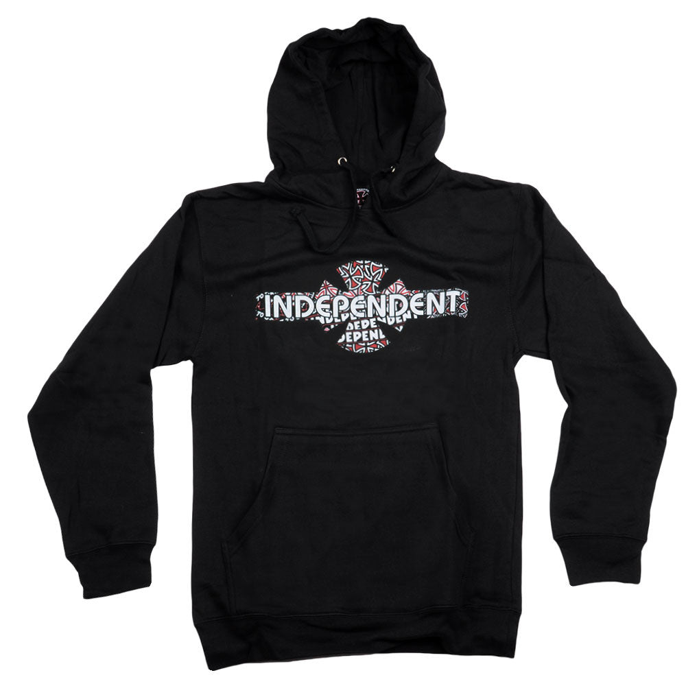 Independent O.G.B.C. Multifill Pullover Hooded L/S - Black - Men's Sweatshirt