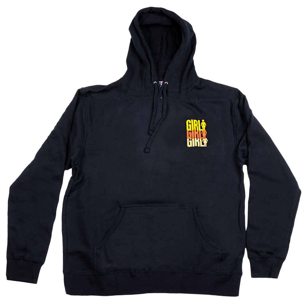 Girl Triple OG Pullover - Men's Sweatshirt - Navy