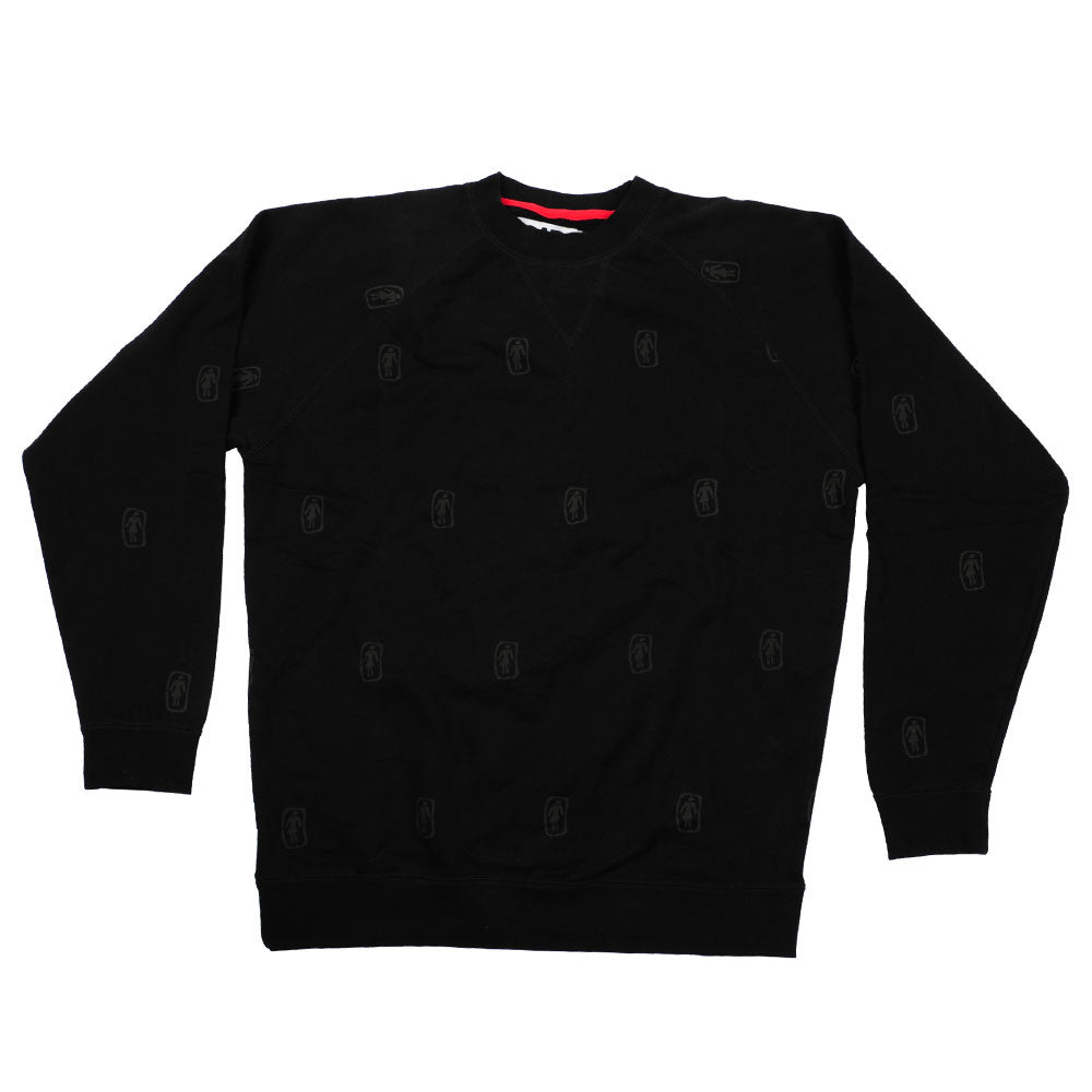 Girl Sparse Crew - Men's Sweatshirt - Black