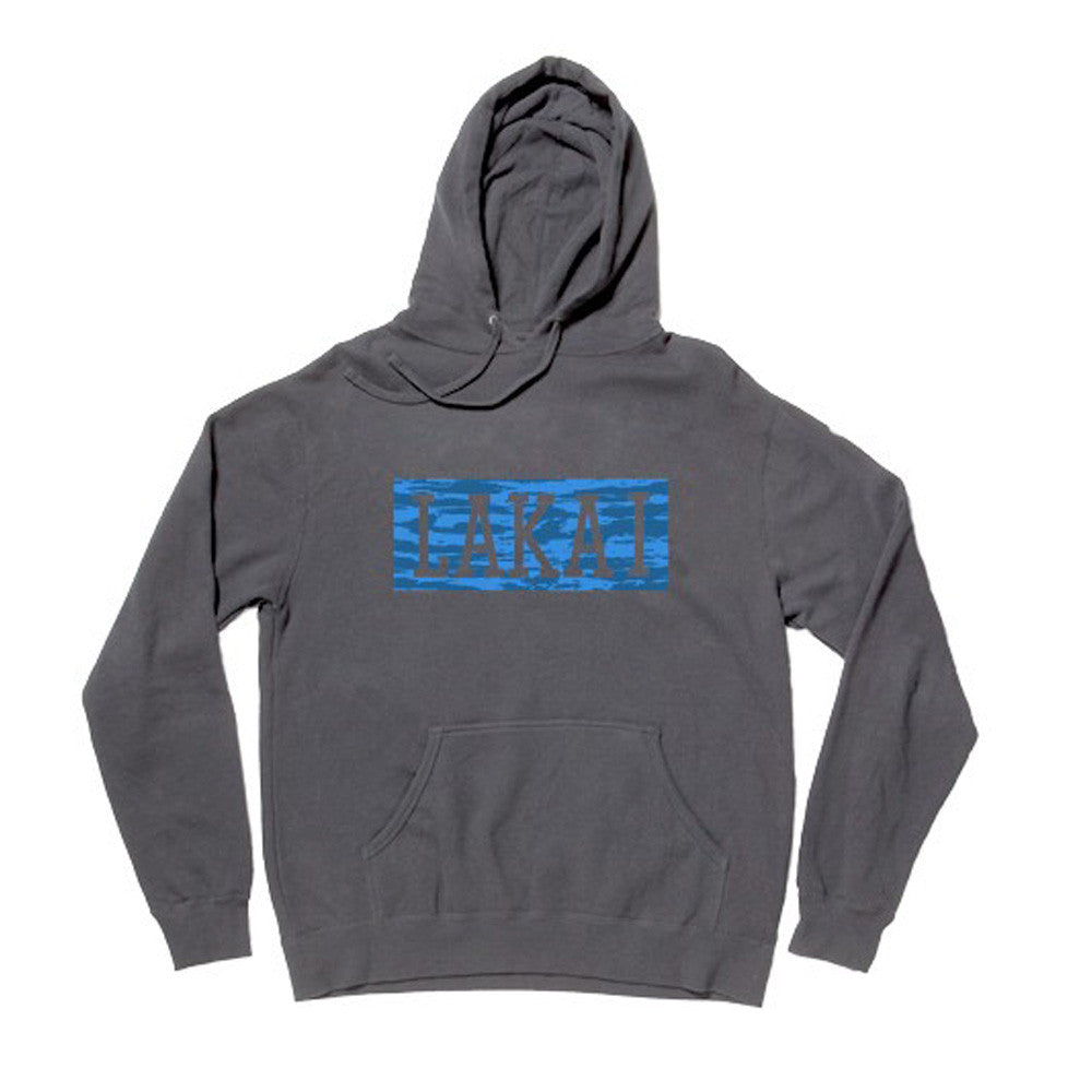 Lakai Whisper P/O Hooded Men's Sweatshirt - Charcoal