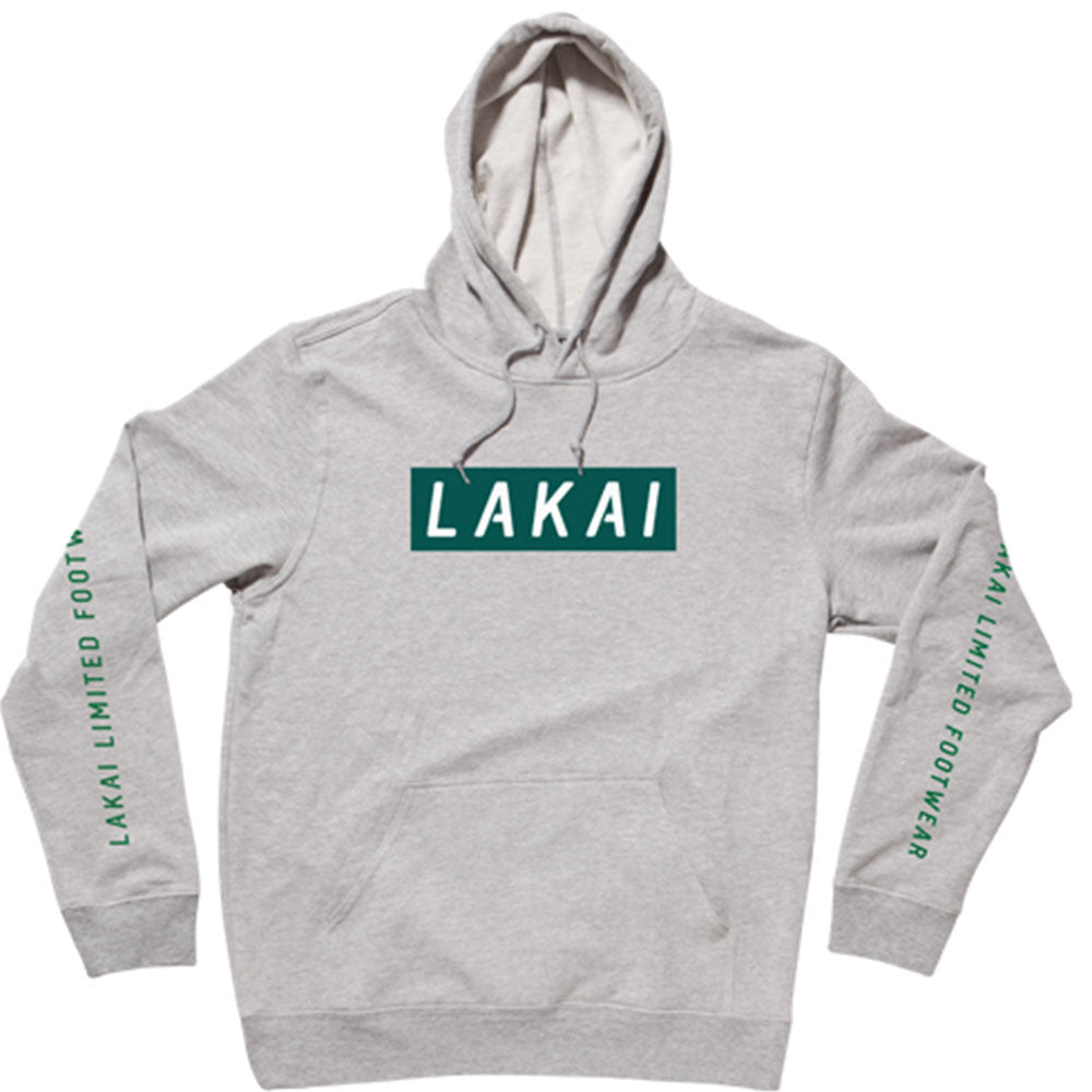 9b3c9053125d Lakai Stall P O Hooded Men s Sweatshirt - Athletic Heather Grey ...