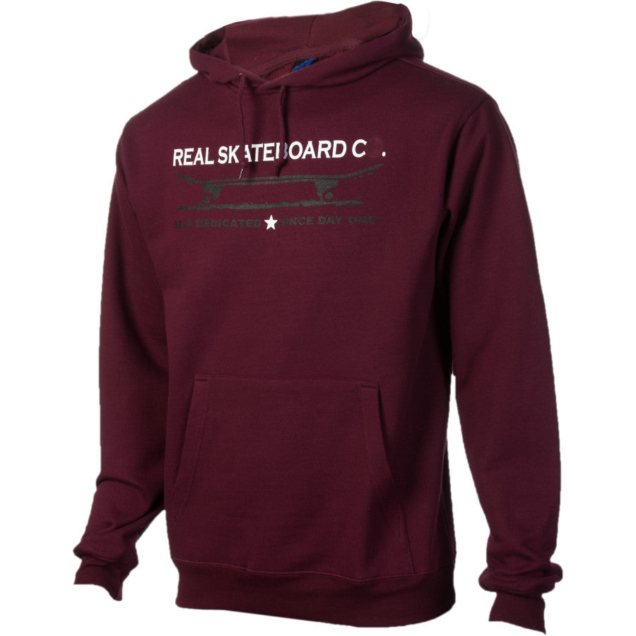 Real Since Day One Men's Sweatshirt - Maroon