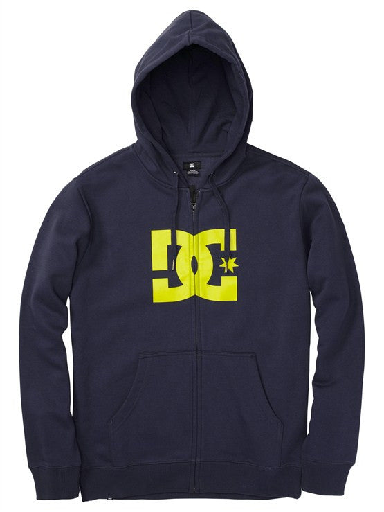 DC Star 1 Zip Men's Sweatshirt - DC Navy