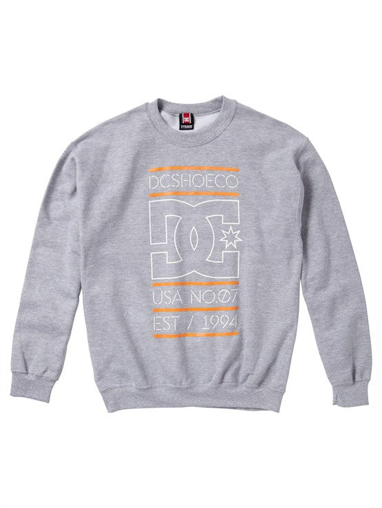 DC Rob Dyrdek Highlight Stacked Men's Sweatshirt - Heather Grey