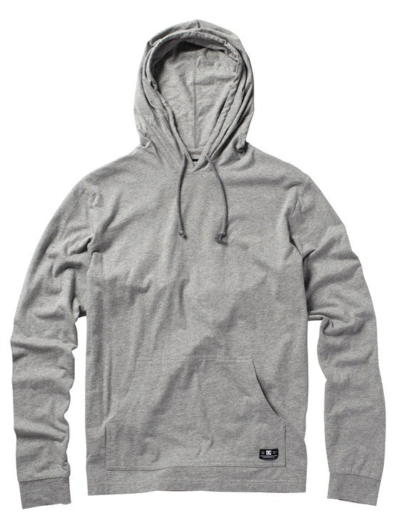 DC Power Slide Pullover Hoodie - Heather Grey - Men's Sweatshirt