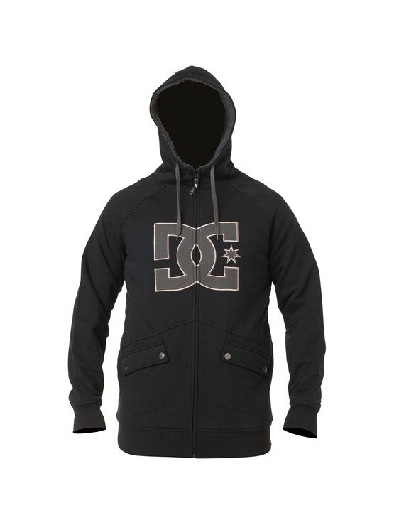 DC Maxmillions Zip - Men's Sweatshirt - Black