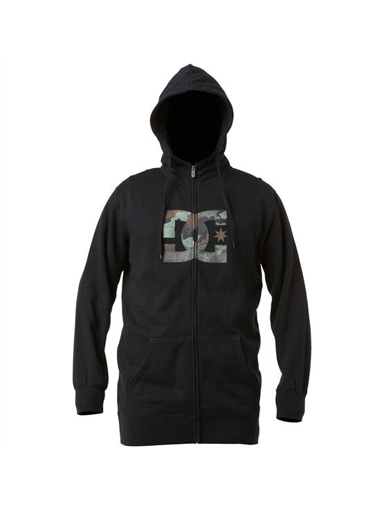 DC Star Snow Zip Men's Sweatshirt - Black