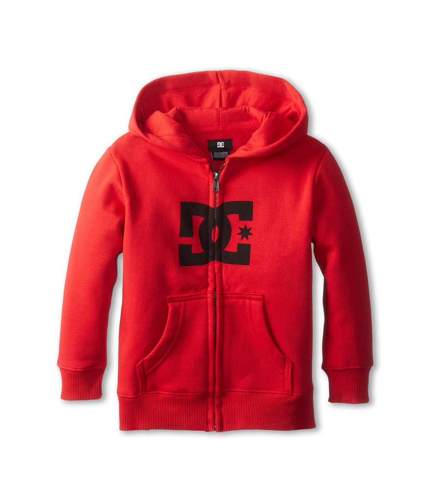 DC Star Shearling Men's Sweatshirt - Athletic Red