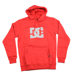 DC Star P/O Hooded - Red/Grey Gradient - Men's Sweatshirt