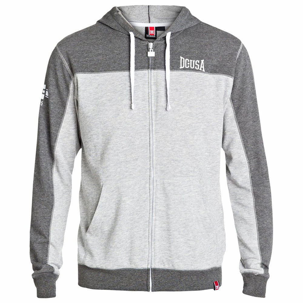 DC Rob Dyrdek Uppercut Zip Up Hooded Men's Sweatshirt - Tarmac KTA0