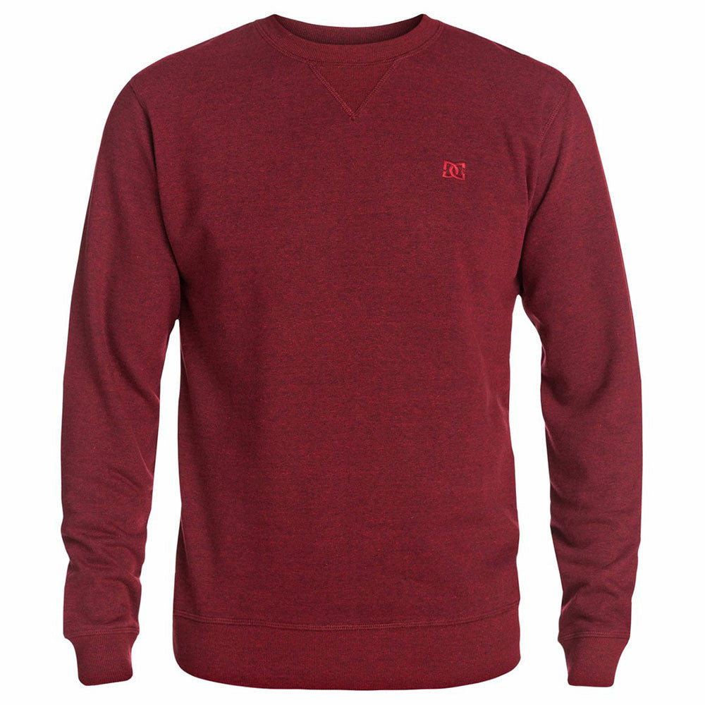 DC Rebel Crew Men's Sweatshirt - Jester Red RRL0