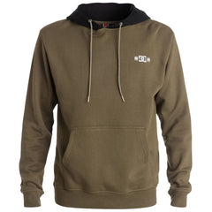 DC RD Trail Hooded Pullover Men's Sweatshirt - Military Olive CQW0