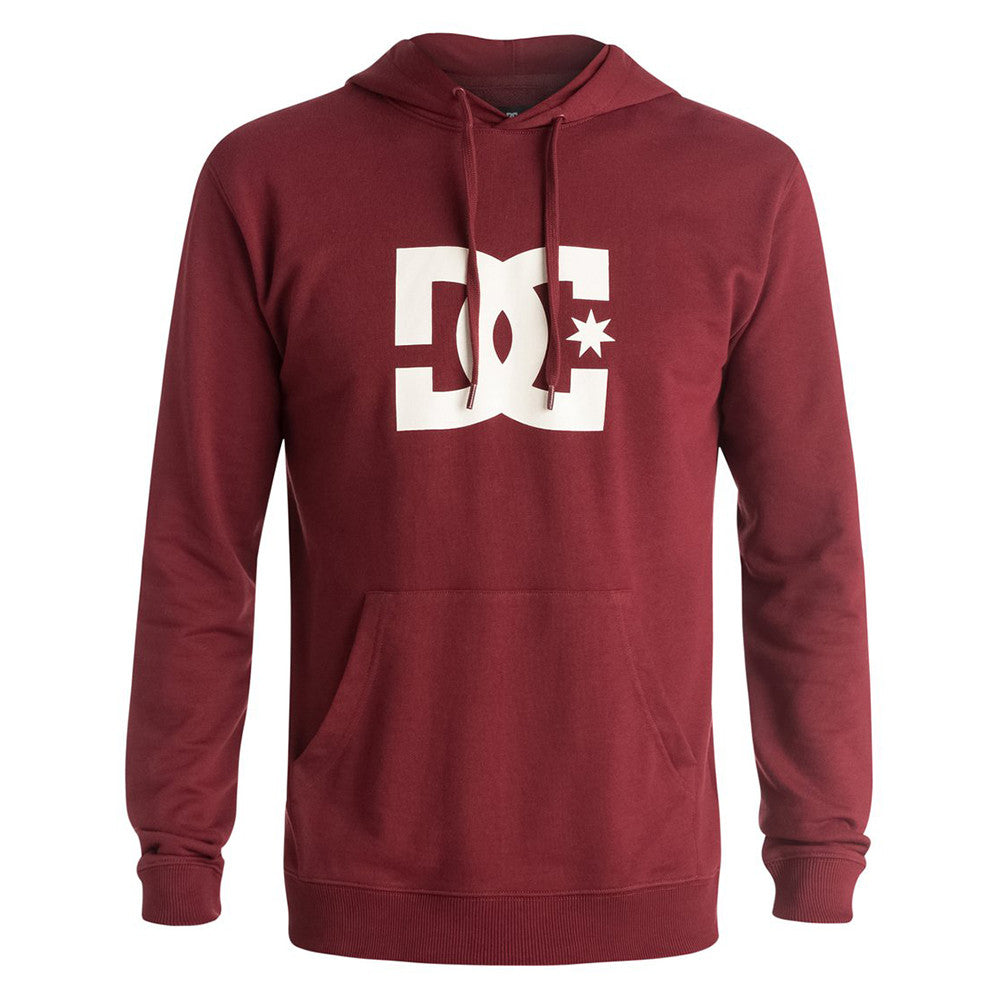 DC Star P/O Hooded Men's Sweatshirt - Syrah RZD0