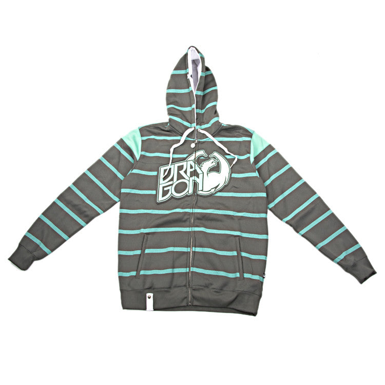 Dragon Level Stripe Men's Sweatshirt - Moss