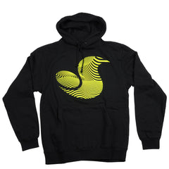 DVS 13th Floor Pull Over Men's Sweatshirt - Black/Yellow 001