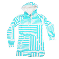 Four Square Blue Bird Women's Sweatshirt - Helsinki Blue