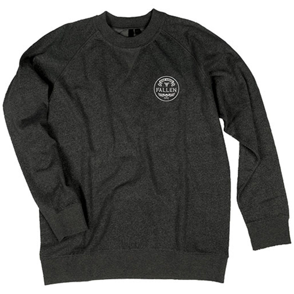 Fallen Easy Ride Crew Men's Sweatshirt - Black