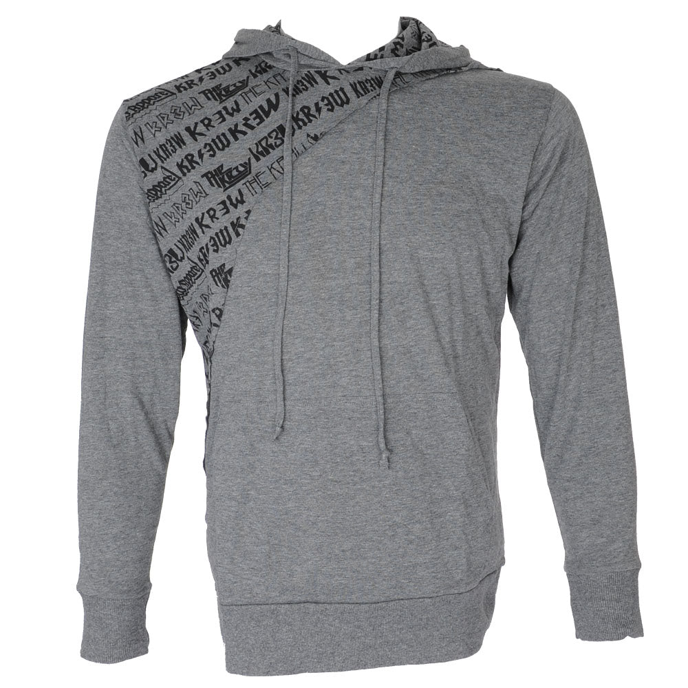 KR3W - Rockshow Lite Dark Men's Sweatshirt - Grey