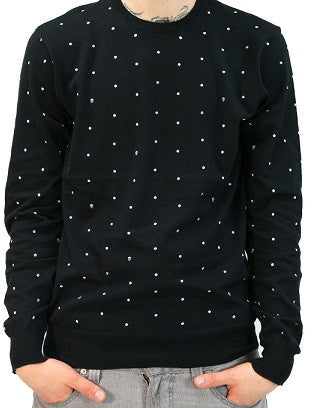 Vans Skulldots - Black - Men's Sweatshirt