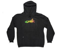 Cliche Handwritten Gradient Pullover - Black - Men's Sweatshirt