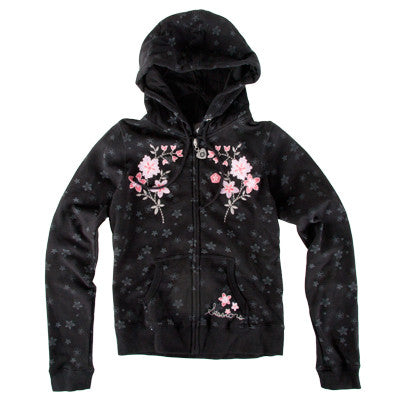 Sessions Blossom Magic Women's Sweatshirt - Black