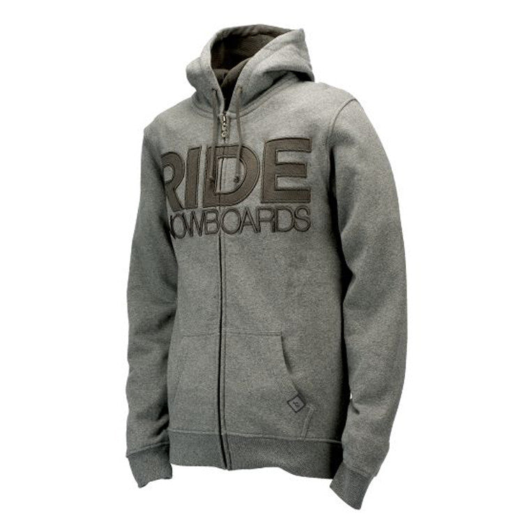 Ride Heathered Men's Sweatshirt - Grey - Medium