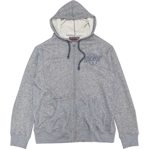 Deathwish Death Kings Zip Men's Sweatshirt - Grey