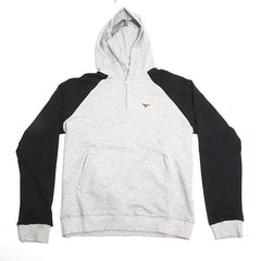 Elwood Silas Henley Men's Sweatshirts - Heather Grey - Small