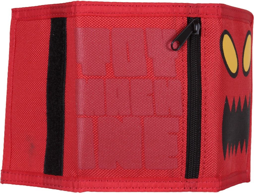 Toy Machine Monster Face Men's Wallet - Red