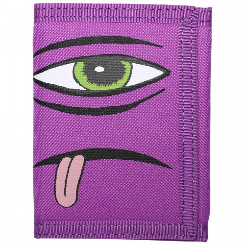 Toy Machine Sect Face Men's Wallet - Purple