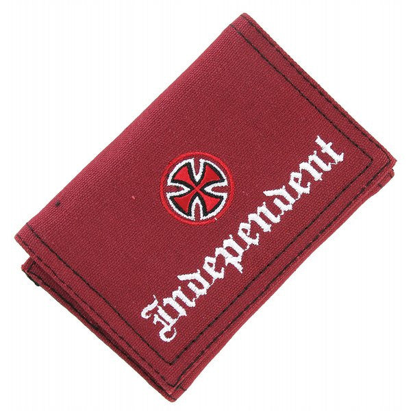 Independent OE Cross Wallet - Red