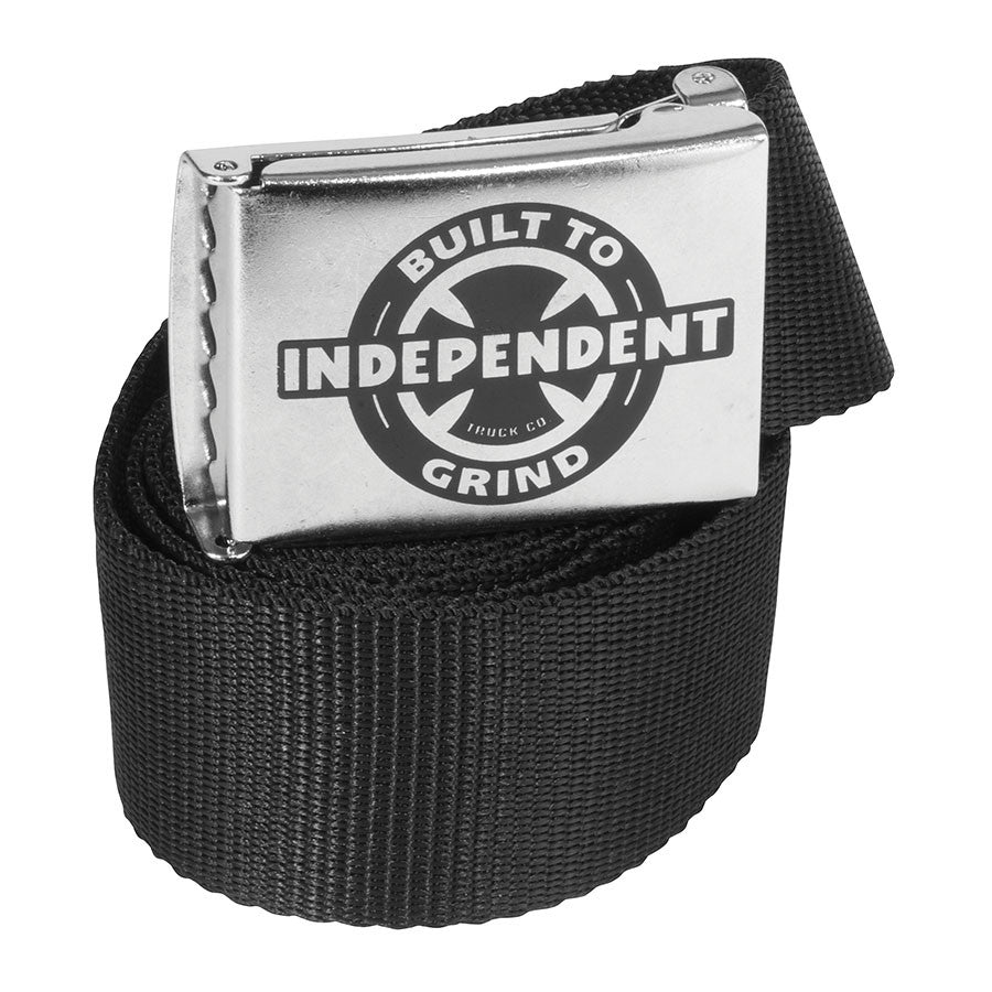 Independent BTG Ring Web OS Unisex Belt - Black