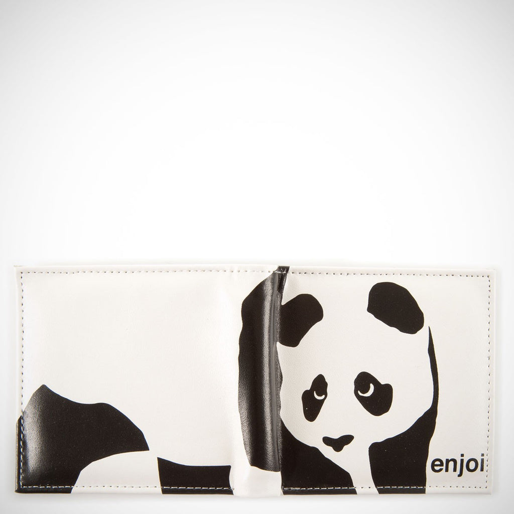 Enjoi Panda Wallet - White/Black