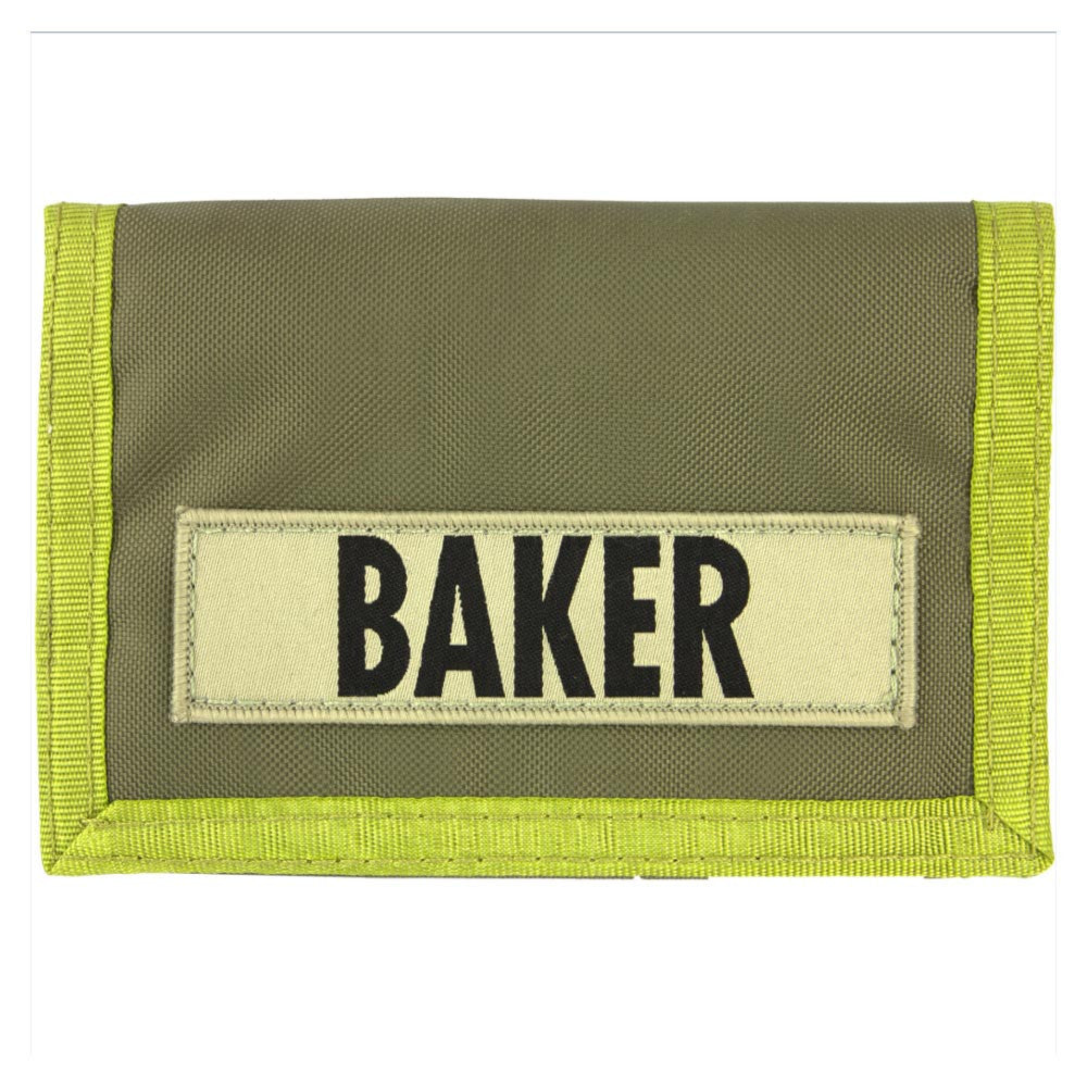 Baker Infantry Wallet - Green