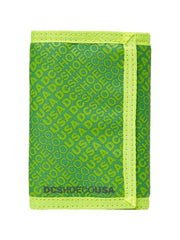DC Ripstop 5 Men's Wallet - Fluorescent Green