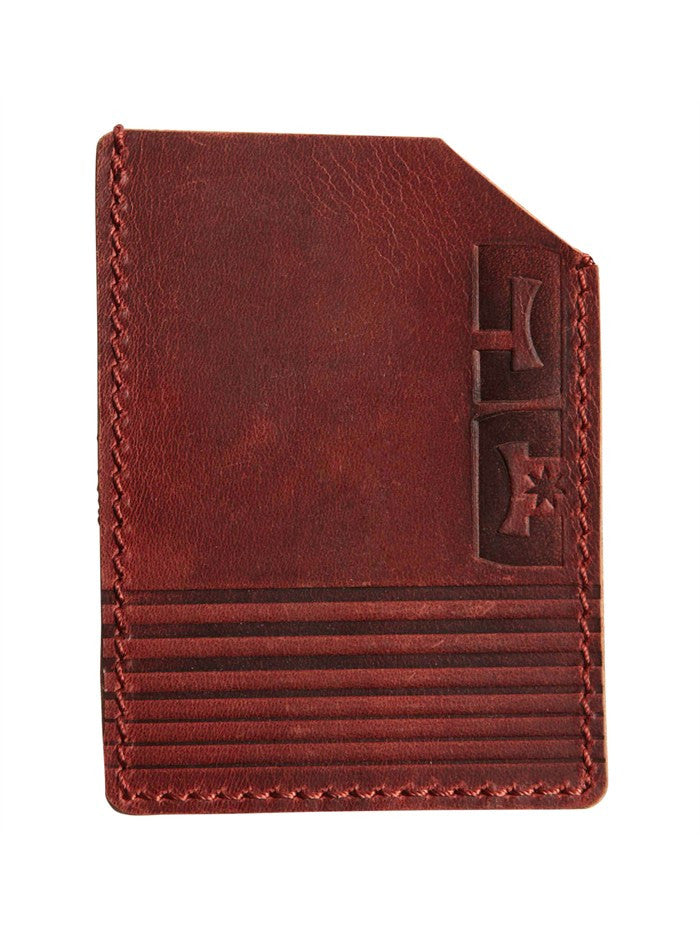 DC Incognito Men's Wallet - Deep Red