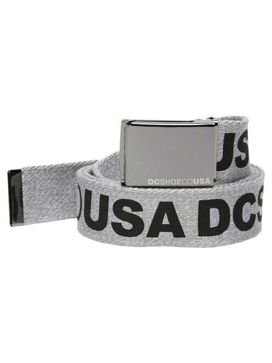 DC Men's Chinook 5 Men's Belt - Heather Grey