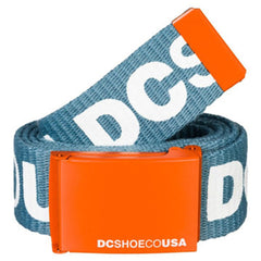 DC Men's Chinook 5 Men's Belt - Blue/Blue/Orange XBBN