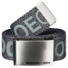 DC Men's Chinook TX Men's Belt - Steel Grey KNFH
