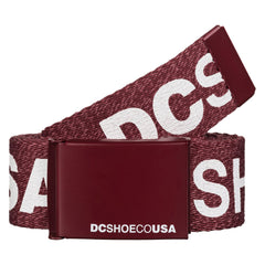 DC Chinook TX Men's Belt - Syrah RZDH