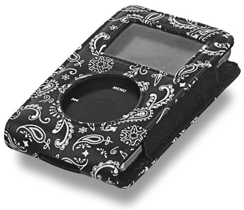 C1RCA Paisley iPod Case - Black