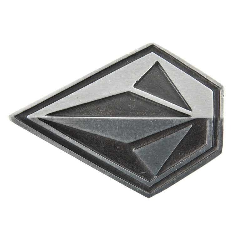 Volcom Oblique Belt Buckle - Pewter