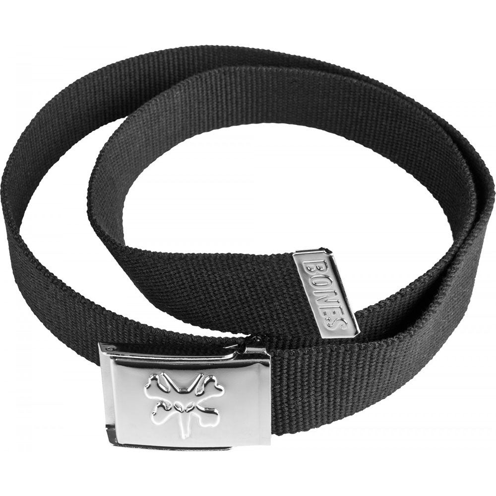 Bones Waisted Rat Cotton Men's Belt - Black