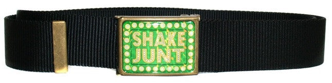 Shake Junt SJ Web Scout Men's Belt - Black