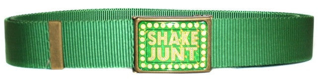 Shake Junt SJ Web Scout Men's Belt - Green