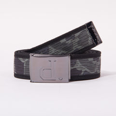 Diamond Un-Polo Rainfrog Clamp Men's Belt - Black